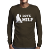 I LOVE MILF Mens Long Sleeve T-Shirt