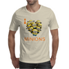 I LOVE MINIONS Mens T-Shirt