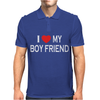 I LOVE MY BOY FRIEND Mens Polo