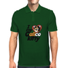 I love my calico kitty cat Mens Polo