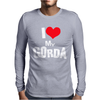I Love My Gorda Mens Long Sleeve T-Shirt