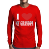 I Love My Grandpa Mens Long Sleeve T-Shirt