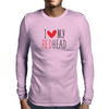 I Love My Red Head Mens Long Sleeve T-Shirt