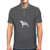 I Love my Rottweiler Mens Polo