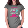 I Love My Smoking hot packers fan wife Womens Fitted T-Shirt