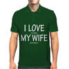 I Love My Wife - DJ Mens Polo