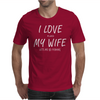 I Love My Wife ~ Mens Funny Fishing Mens T-Shirt