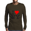 I Love NY Mens Long Sleeve T-Shirt