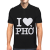 i love pho Mens Polo