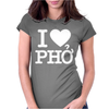 i love pho Womens Fitted T-Shirt