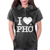 i love pho Womens Polo