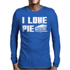 I Love Pie Mens Long Sleeve T-Shirt