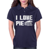 I Love Pie Womens Polo