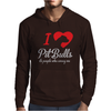 I Love Pitbulls Its People That Annoy Me Mens Hoodie