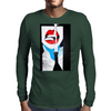 I LOVE  POP Mens Long Sleeve T-Shirt