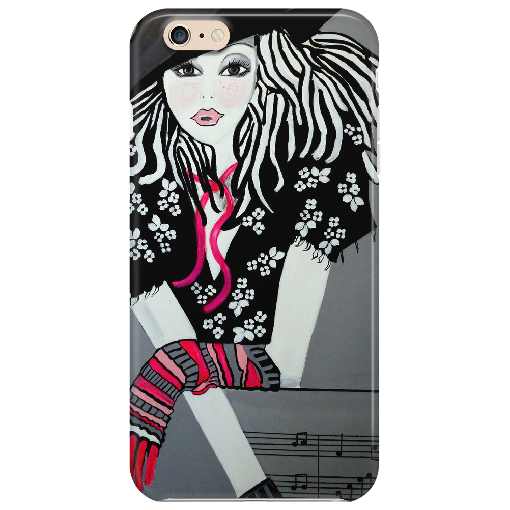I LOVE  ROCK AND ROLL Phone Case
