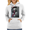 I LOVE  ROCK AND ROLL Womens Hoodie