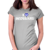 I LOVE SCOTLAND Womens Fitted T-Shirt