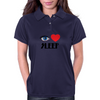 I Love Sleep Womens Polo