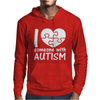 I Love Someone With Autism Mens Hoodie