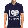 I Love Someone With Autism Mens Polo