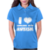 I Love Someone With Autism Womens Polo
