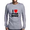 I Love Starwars Mens Long Sleeve T-Shirt