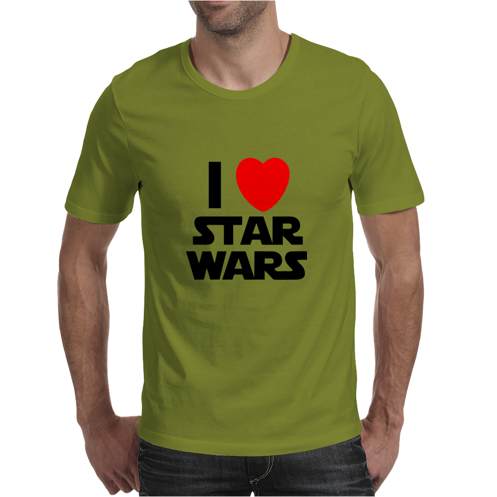 I Love Starwars Mens T-Shirt