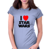 I Love Starwars Womens Fitted T-Shirt