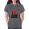 I Love Starwars Womens Polo
