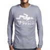 I Love Sushi Funny Mens Long Sleeve T-Shirt