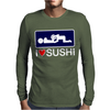 I love Sushi Mens Long Sleeve T-Shirt