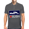 I love Sushi Mens Polo
