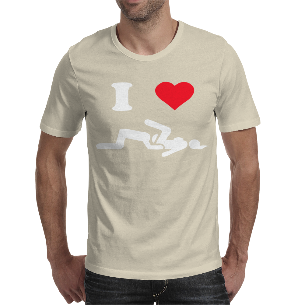 I LOVE SUSHI Mens T-Shirt