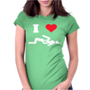 I LOVE SUSHI Womens Fitted T-Shirt