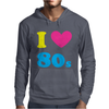 I Love The 80 S Mens Hoodie
