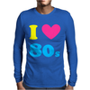 I Love The 80 S Mens Long Sleeve T-Shirt