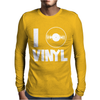 I Love Vinyl Mens Long Sleeve T-Shirt