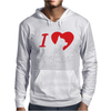 I Love Yorkies Dogs Mens Hoodie
