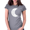 i love you to the moon & back Womens Fitted T-Shirt