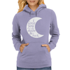 i love you to the moon & back Womens Hoodie