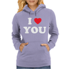 I LOVE YOU Womens Hoodie