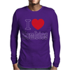 I Love Zombies Mens Long Sleeve T-Shirt