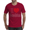 I Love Zombies Mens T-Shirt