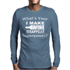 I Make Wine Disappear Mens Long Sleeve T-Shirt