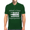 I Make Wine Disappear Mens Polo