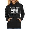 I Make Wine Disappear Womens Hoodie