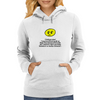 I may have fucked up my life up flatter than hammered horseshit, but i stand here before you today Womens Hoodie