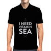 I NEED VITAMIN SEA Mens Polo
