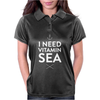 I NEED VITAMIN SEA Womens Polo